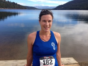 A beautiful day to run around Donner Lake!