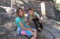 Clara and Alex at Box Canyon