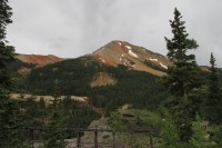 View from the Million Dollar Highway between Ouray and Silverton